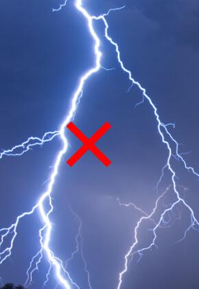 Negativní věc - elektřina